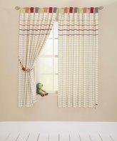 Mamas and Papas Jamboree Tab Top Lined Curtains
