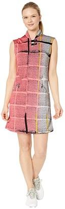 Jamie Sadock Dream Print Sleeveless Dress with Shortie (Doll Face) Women's Dress