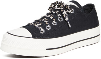 Converse Chuck Taylor All Star Leopard Platform Sneakers