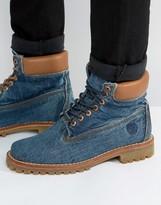 Timberland Classic 6 Inch Denim Premuim Boots