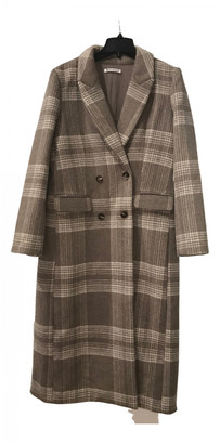Reformation Brown Wool Coats