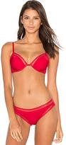 Calvin Klein Underwear Signature Plunge Unlined Bra