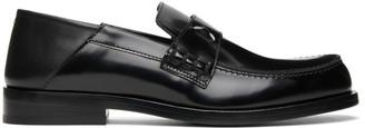 Maison Margiela Black Slip-On Loafers