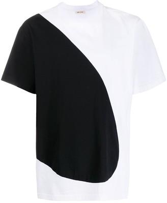 Marni two tone block T-shirt
