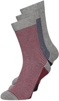 Pier One Socks Bordeaux/off White