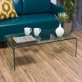Christopher Knight Home Ramona Glass Rectangle Coffee Table