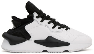 Y-3 Black and White Kaiwa Sneakers