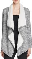 Vero Moda Ilsa Space Dye Faux Fur Cardigan