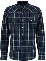 Gap WESTERN PLAID SLIM FIT Shirt blue/green