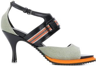 A.F.Vandevorst Woven Strap Sandals