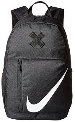 Nike Kids Elemental Backpack (Little Kids/Big Kids) (Black/Black/White) Backpack Bags