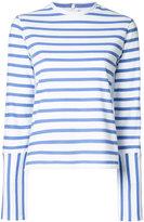 Le Ciel Bleu striped jumper