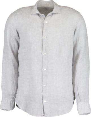 Eleventy Melange Linen Shirt