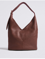 M&S Collection Leather Sling Hobo Bag