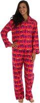 Frankie & Johnny Junior's Flannel Winter Plaid Flannel Pajamas XS