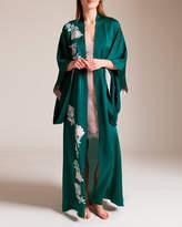 Carine Gilson Rose's Paradise Long Kimono