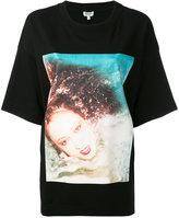 Kenzo Patti d'Arbanville oversized T-shirt