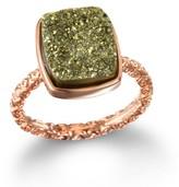 Dara Ettinger Nadia Rectangle Ring, Moss