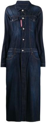 DSQUARED2 maxi denim dress