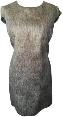 ALICE by Temperley Gold Silk Dress for Women