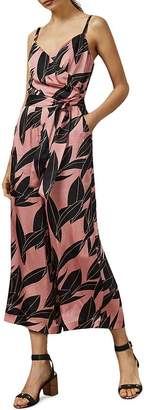 Ted Baker Diantha Sour Cherry Palm-Printed Jumpsuit
