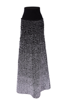 Sonia Rykiel Ruffle Knit Maxi Skirt