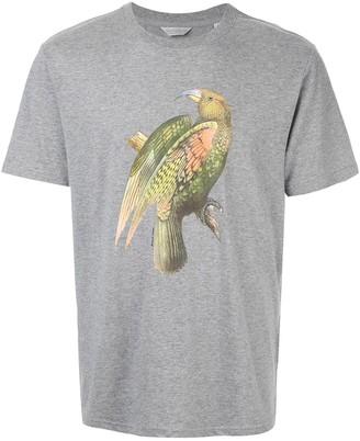 Gieves & Hawkes bird print T-shirt