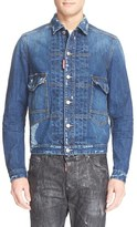 DSQUARED2 Men's Embroidered Denim Jacket