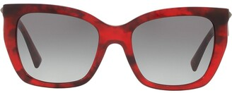 Valentino Eyewear Oversized Sunglasses