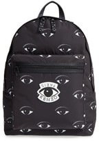 Kenzo Essential Classic Eye Backpack - Black