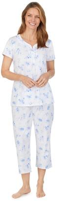 Aria Women's Sleep Shirt & Sleep Capri Set