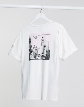 Volcom Schnips t-shirt in white