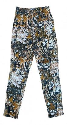Kenzo Camel Cotton - elasthane Jeans