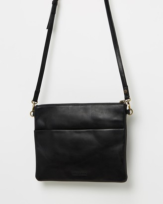 Stitch & Hide - Women's Black Leather bags - Juliette Classic Collection Clutch Bag - Size One Size at The Iconic