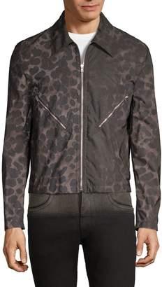 Helmut Lang Printed Full-Zip Jacket