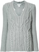 Partow - v-neck jumper - women - Cashmere/Virgin Wool - L