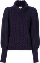 Temperley London shade knit jumper
