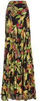 Isolda Alicia High Waist Maxi Skirt