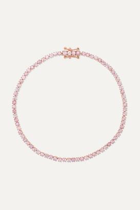Anita Ko Hepburn 18-karat Rose Gold Sapphire Bracelet - one size