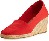 Andre Assous Pamela Canvas Wedge Pump