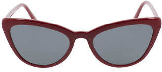 Prada Red Catwalk Cat Eye Sunglasses