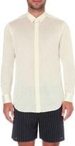 La Perla Regular-fit silk and cotton-blend shirt