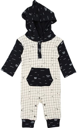 L'ovedbaby L'oved Baby Little Explorers Long-Sleeve Hooded Romper - Infants'