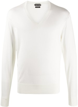 Tom Ford V-neck silk jumper