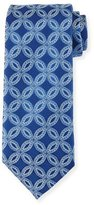 Charvet Etched Flower Silk Tie