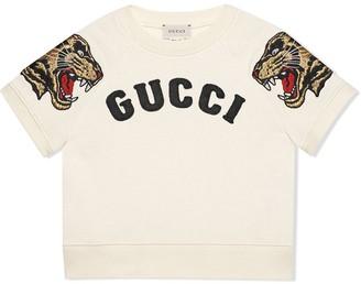 Gucci Kids Children's embroidered sweatshirt