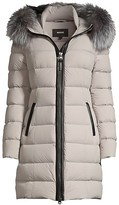 Thumbnail for your product : Mackage Calla Fur-Trim Hooded Puffer Coat