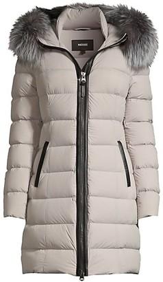 Mackage Calla Fur-Trim Hooded Puffer Coat