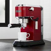 Crate & Barrel DeLonghi ® Dedica Slimline Red Espresso Maker