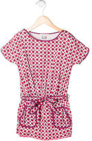 Little Marc Jacobs Girls' Floral Print Belted Dress